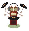 Funny jukebox vector image