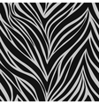 Seamless texture of zebra skin vector image