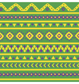 green mexican pattern vector image