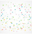 colorful glitter background vector image