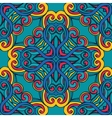 Abstract seamless tile ornamental pattern vector image