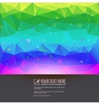 Beautiful tech background for your design vector image
