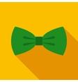Green Bow Tie vector image
