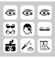 Optometry vector image