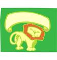 Lion Banner vector image