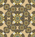 Abstract vintage seamless pattern for background vector image