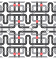 Background pattern with pipe with valve ill vector image