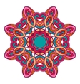 mandala ethnic round ornament design vector image