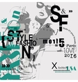 STYLE and FASHION word cloud concept vector image