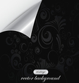 curved background 2 vector image vector image