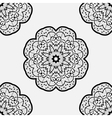 Ethnic round element Design with abstract unusual vector image