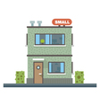 Small business center offices vector image