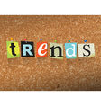 Trends Concept vector image