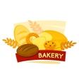 Bakery concept design vector image