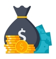 Concept of Money vector image