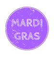 for Mardi Gras vector image