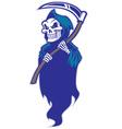 grim reaper mascot vector image