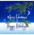 christmas ny background vector image