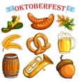 Oktoberfest design object vector image