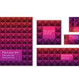business card and envelope vector image
