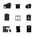 object set vector image