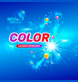 package design laundry detergent vector image
