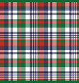 check pixel color plaid seamless pattern vector image