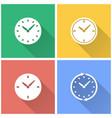 clock - icon vector image