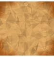 Orange Light Polygonal Mosaic Background vector image