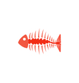 Fishbone Icon vector image