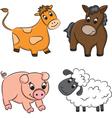 Cartoon domesticated animal vector image vector image