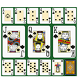 Spades Suite Black Jack large figures vector image