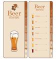 beer website vector image vector image