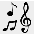 music note symbols vector image