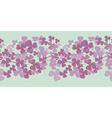 Decorative pastel border vector image