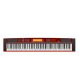 electric piano vector image