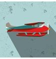seaplane icon design vector image