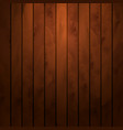 cartoon square background with wooden boards vector image