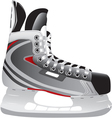 ice hockey skate vector image