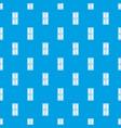 closed wooden door pattern seamless blue vector image vector image