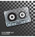 retro audio cassete vector image