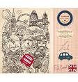 London postcard vector image