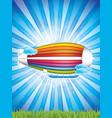 airship vector image
