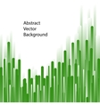 Green lines abstract background vector image