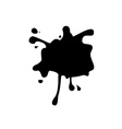 Abstract black spot vector image