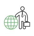 International Businessman vector image