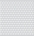 geometric cubes pattern grey seamless vector image