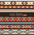Ethnic borders vector image vector image