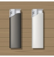 Lighters mock up vector image