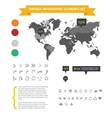 Web infographic elements set isolated vector image
